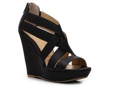 Chinese Laundry Major Crush Wedge Sandal Women's Wedge Sandals All Women's Sandals Sandal Shop - DSW