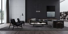 PoliformA moody trip through the rainy ambiance of sumptuous italian-furnished interiors.