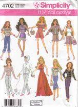 Free Barbie Patterns