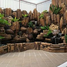 Large Backyard Landscaping, Ponds Backyard, Garden Pond Design, Landscape Design, Garden Sculptures Stone, Garden Sitting Areas, Fish Pond Gardens, Bamboo House Design, Japan Garden