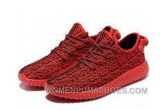 4aa91657f6534 Adidas Yeezy Boost 350 Red On Red Shoes Lastest C7B4J