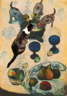 famous cat art - Google Search