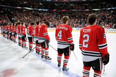 This team stands for you. #Blackhawks #OneGoal