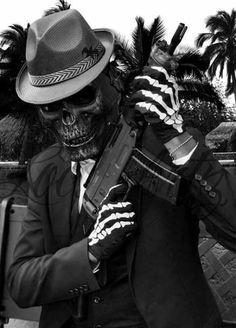Dark Pictures, Dark Pics, Badass Skulls, Monster Squad, Cholo Style, My Guy, My World, Crime, Fantasy
