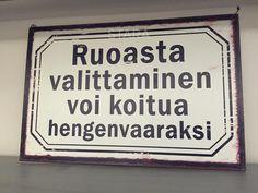 Tällainenkin viesti voi löytyä ravintolan seinältä. Vitsinä tietenkin. https://www.instagram.com/p/BArUO7VF2xu/