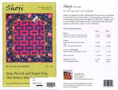 Shoji+by+Tracey+Brookshier+-+Strip-Pieced+Quilt+Pattern