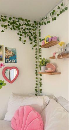 Room Design Bedroom, Room Ideas Bedroom, Girls Bedroom, Room Decor Bedroom, Bedroom Inspo, Dream Bedroom, Indie Room Decor, Cute Room Decor, Aesthetic Room Decor