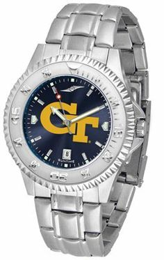 Georgia Institute Of Technology Yellow Jackets Competitor Anochrome - Steel Band - Men's - Men's College Watches by Sports Memorabilia. $87.08. Makes a Great Gift!. Georgia Institute Of Technology Yellow Jackets Competitor Anochrome - Steel Band - Men's
