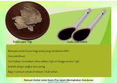 Ramuan-Kesuburan-Pria-herbal-obat-kuat-18 Recipe Cards, Islam, Recipes, Rezepte, Muslim, Recipies, Cooking Recipes, Recipe