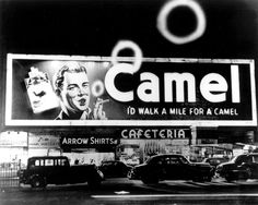 1941-1966....camel sign claridge Hotel, broadway, NYC Answers to Questions About New York