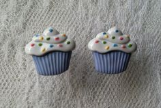 Cupcake Plugs Gauges Size 2g 0g 00g 1/2 by PorcupineSpines on Etsy, $18.00