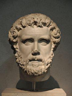 Ritratto di Antonino Pio; II secolo d.C.; marmo; da Formia, Lazio; Museo Nazionale Romano, Roma.