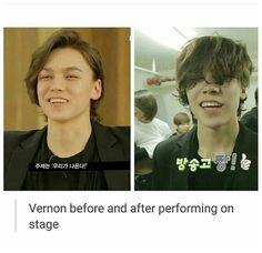 Seventeen~Hansol/Vernon  XD so cute