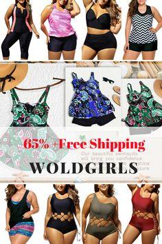 d758de3e88e Buy Cheap Plus Size Swimwear | Bikinis & High-Waisted Swimsuits -WoldGirls
