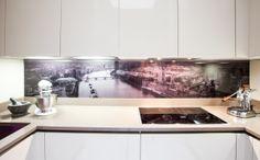 Glass splashbacks for kitchensModern Home Interior Design