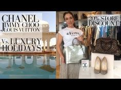 New on my channel: DESIGNER BAGS vs LUXURY HOLIDAYS: Louis Vuitton & Chanel https://youtube.com/watch?v=fev9vfq5fwc