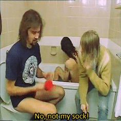No not my sock! (DAVE IS SO CUTE)