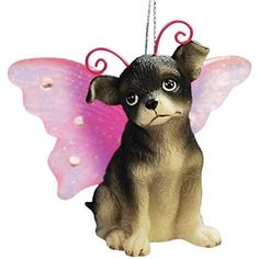 WL SSWL21605 Chihuahua Puppy Dog with Fairy Wings Christmas Ornament 225 -- Read more  at the image link.