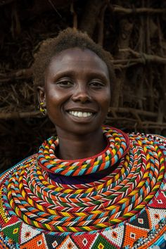 Africa | Samburu woman. Suguta Marmar, northern Kenya | ©Stefan Cruysberghs.