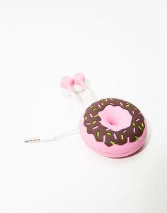 Earphones Donut - Accesorios tablet & móvil - Bershka Mexico