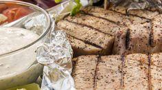 Tuna Tacos with Lime & Cilantro Cream Tuna Tacos, Healthy Nutrition, Healthy Recipes, Sexy Smokey Eye, Feeling Hungry, Detox Tea, Cilantro, Electric Fencing, Herbalism