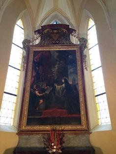 Beautiful church painting #KutnaHora #CzechRepublic #CETPrague @CETAcademicPrograms