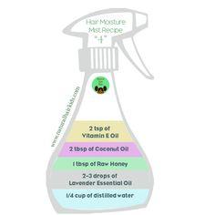 Frizz Control spritzer | Natural Hair Kids