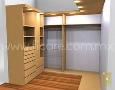 Modelo Closet modelo MM1  www.ficare.com.mx
