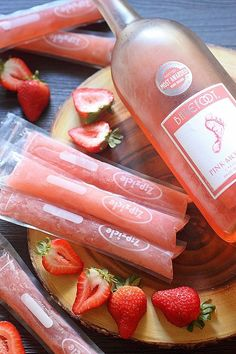 Ice pops, the quintessential childhood treat just got boozy! Have strawberries?…