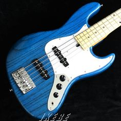 MOMOSE MJ-FIVE2-STD/M - Trans Blue Ashbody, Maple board... 池部楽器店ベースステーションリボレ秋葉原 (@bassstation_akb) | Twitter