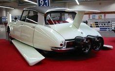 Citroën DS 1964 (Modèle conçu pour le film 'Fantômas' avec Jean Marais et Louis de Funès 1964)