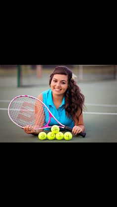 Tennis senior picture ideas. Tennis senior pictures.