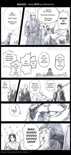 BLEACH - WTF Sidestory 7-2 by *Washu-M on deviantART