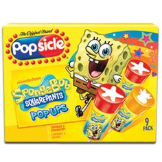 Welcome to Popsicle® – where anything is possible! Get product info about our ice pops, frozen treats and snacks. Spongebob Ice Cream, Spongebob Birthday Party, 4th Birthday Parties, Birthday Party Decorations, 2nd Birthday, Birthday Ideas, Kids Choice Award, Choice Awards, Freeze Pops