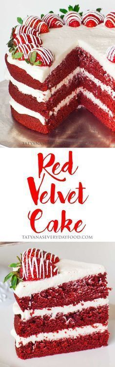 Red Velvet Cake Is A Much Loved And Iconic Cake Made With Cocoa Powder, Red  Food Coloring And Cream Cheese Frosting. This Simple, No Fail Recipe Yields  A ...