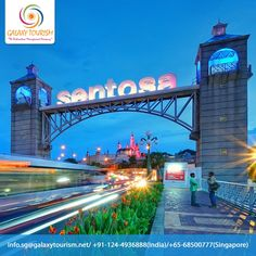 Sentosa Island in Singapore have most popular attractions like Merlion Park, Theme Parks, Water Parks, Hotels.... Explore this destination with Galaxy Tourism. Read More:- http://goo.gl/LGsBya