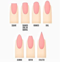 nailpornography:  What shape are your nails? What's your...
