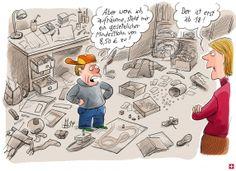 Karikatur - Andrea Nahles denkt auch an die Eltern | Cicero Online