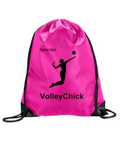 Personalized Nylon Volleyball Backpack