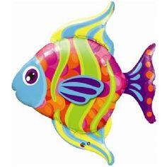"36"" 'Fashionable Fish' Supershape 1pc £3.99"