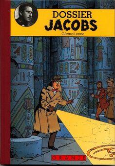 Dossier Jacobs... Schitterend dossier uitgave over Edgar P. Jacobs (Brussel, 30 maart 1904 – aldaar, 20 februari 1987) was een Belgisch striptekenaar. Hij is bekend geworden vanwege de stripreeks Blake en Mortimer en zijn medewerking aan de Kuifjestripboeken van Hergé. Rode linnen rug. Informatief boek in luxe uitvoering, met genummerde zeefdruk 1-300. Betreft nummer 205 / 300