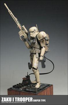 Military Action Figures, Custom Action Figures, Figuras Star Wars, Evil Empire, Star Wars Models, Samurai Armor, Star Wars Images, Star Wars Rpg, Storm Troopers