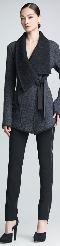 DONNA KARAN | The House of Beccaria WOW very cool jacket I WANT!