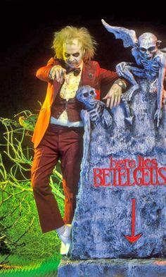Michael Keaton as Beetlejuice.