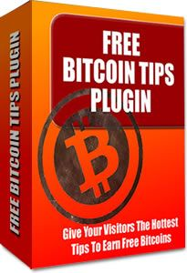 Free WordPress Plugin: Free Bitcoin Tips Widget - The 'Free Bitcoin Tips Widget' plugin is a light-weight plugin that allows you to show your visitors the hottest tips on how to earn free Bitcoin.