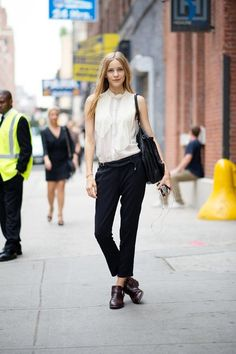 Slideshow: Street Style From New York Fashion Week, Day One - The Cut