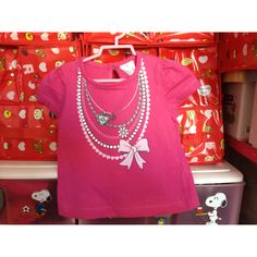 Pinky Top with Ribbon 2-3 yrs S$12.90