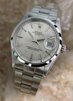 Rolex Oyster Perpetual Date 15000 Stainless Steel cir.1982