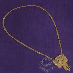 MAANVI CHAIN (MANGALSUTRA)  by Indiatrend. Shop Now at WWW.INDIATRENDSHOP.COM