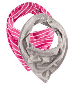 baby 'scarves' instead of bibs